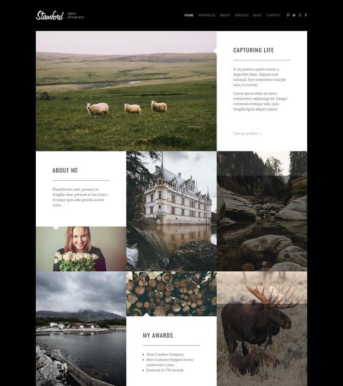 Stamford HTML5 Photography Portfolio