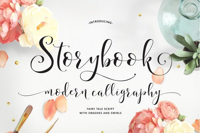 Storybook Calligraphy Script Font
