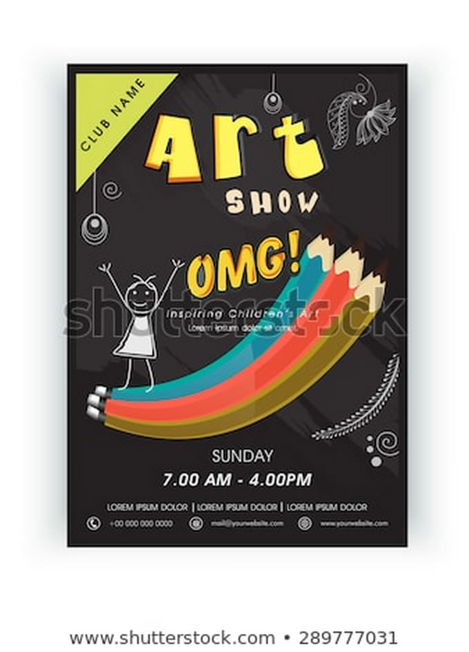 Stylish Art Show Template