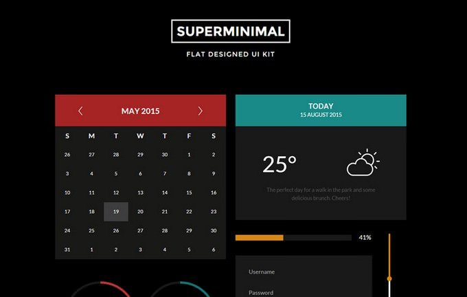 Super Minimal V2 UI Kit