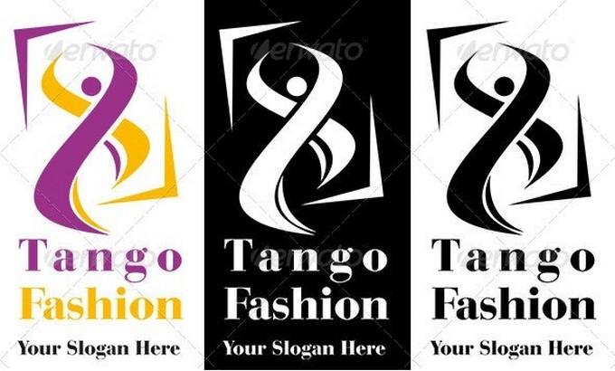 Tango Fashion Logo Template