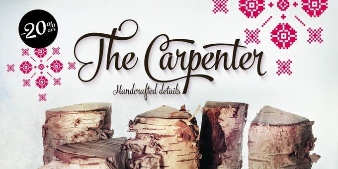 The Carpenter Font