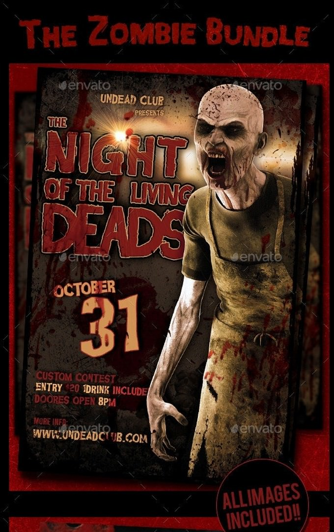 The Zombie Bundle Flyer