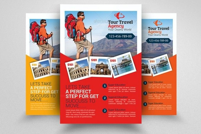 Tour Travel Agency Flyer