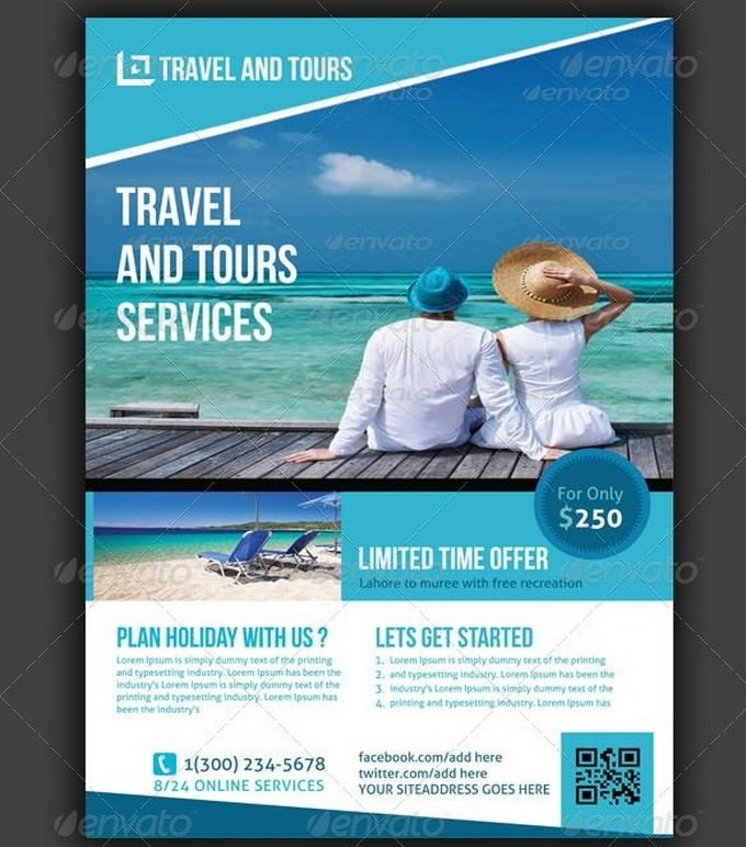 Travel Tours Flyers