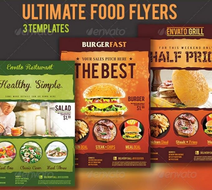 Ultimate Food Flyers