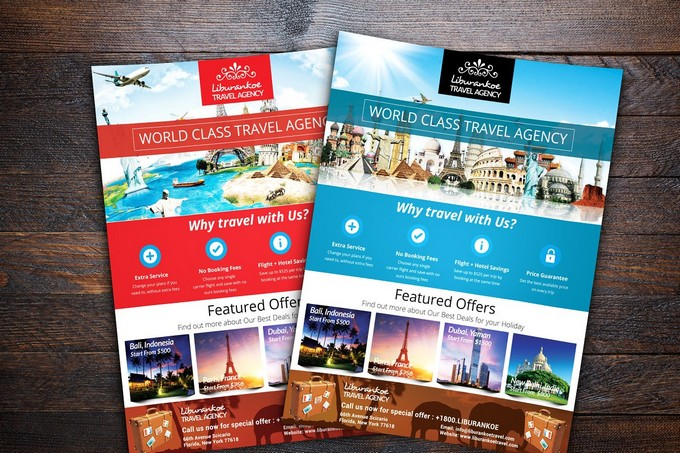 Vacation Travel Agency Flyer