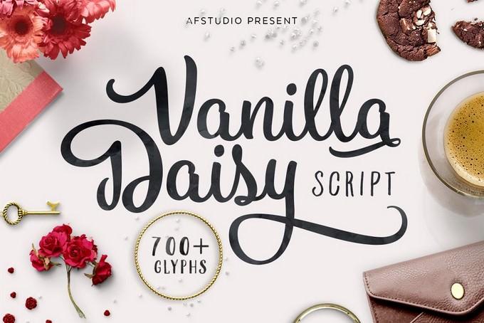 Vanilla Daisy Font