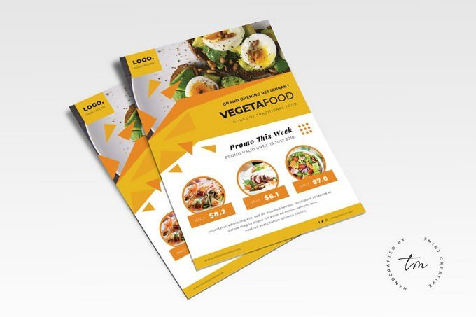 Vegeta Food Restaurant PSD