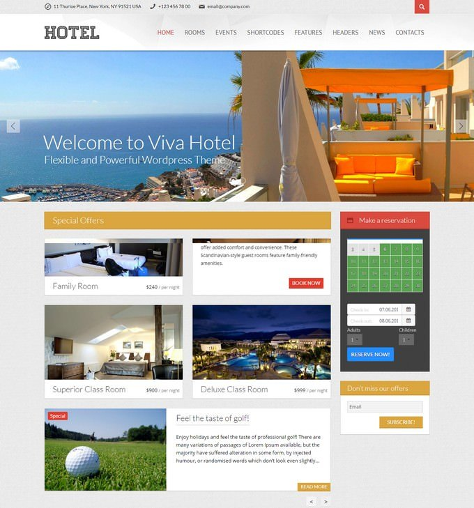 Travel Premium PHP WordPress
