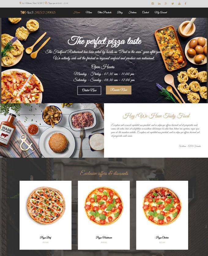 Restaurant WordPress