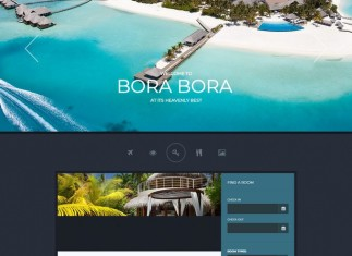 WordPress PHP Travel Theme Paradise Cove