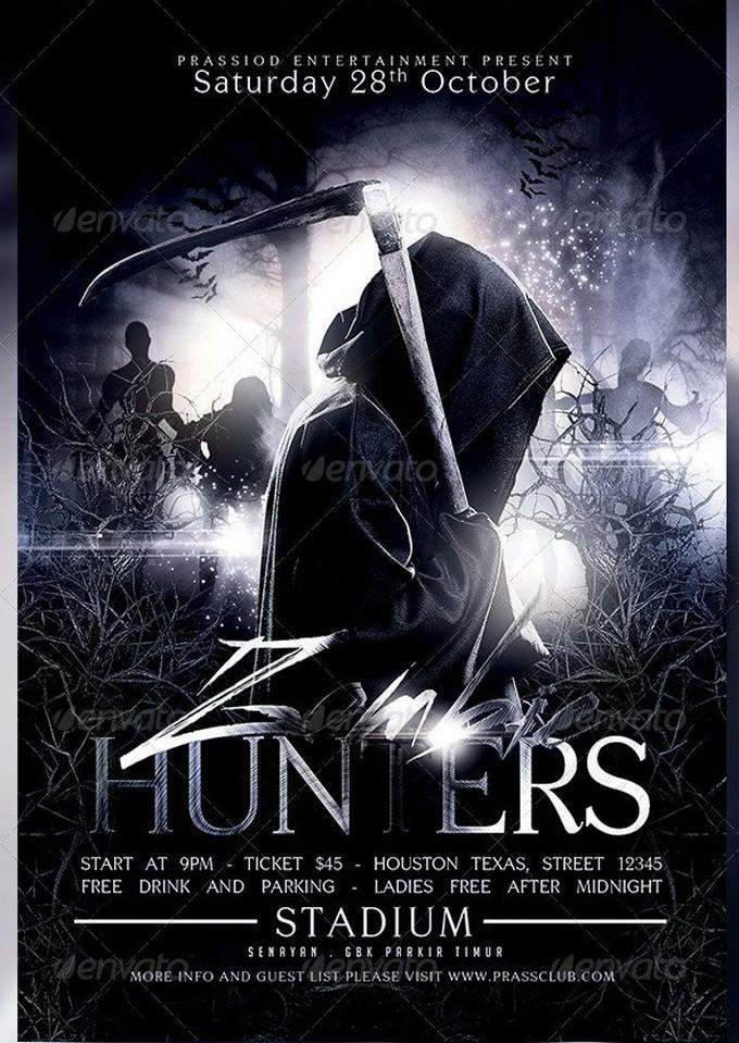 Zombie Hunters Flyer