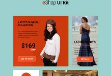 eShop Bootstrap HTML Ui Kit