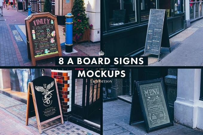 165 Signs & Facades Collection