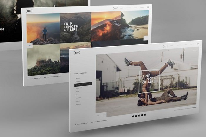 Desktop Screen Mockups
