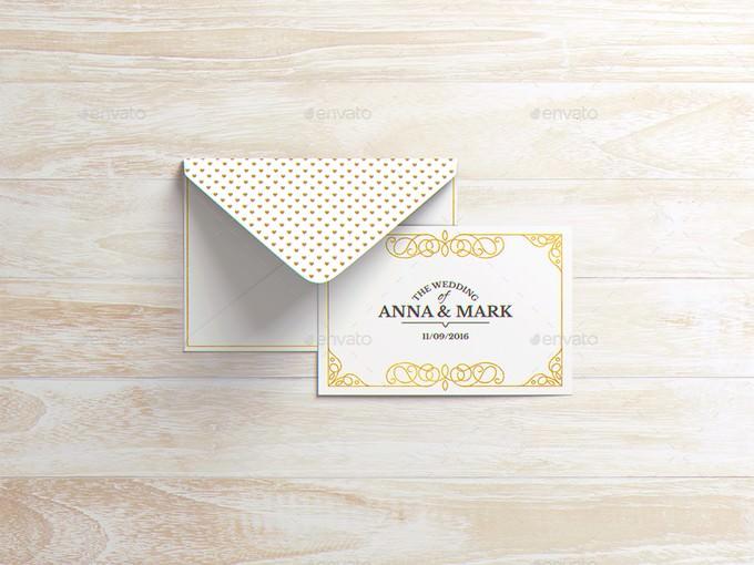 A6 Envelope Mockup