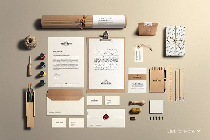Stationery Product Mock-Up
