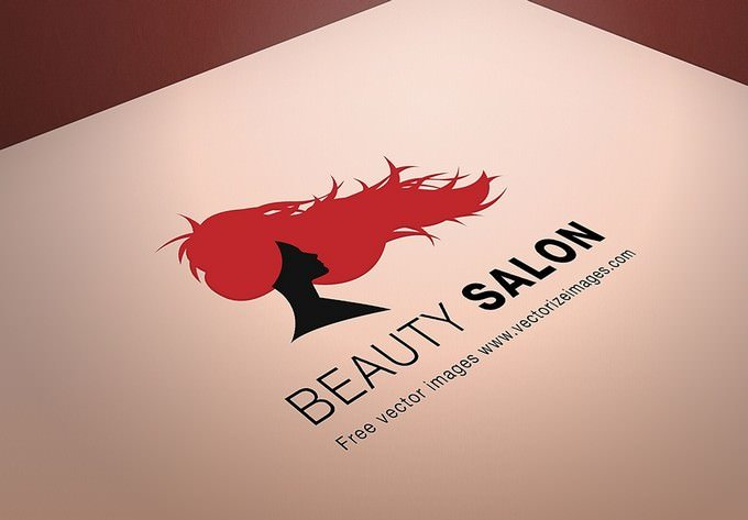 Beauty Salon Logo MockUp