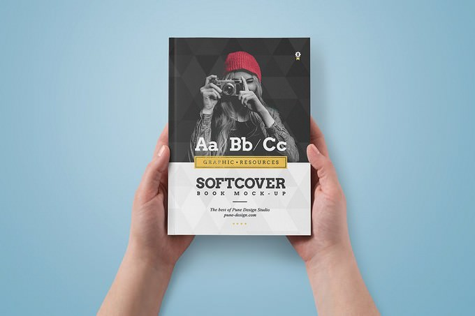 Book Cover Mock-Up PSD