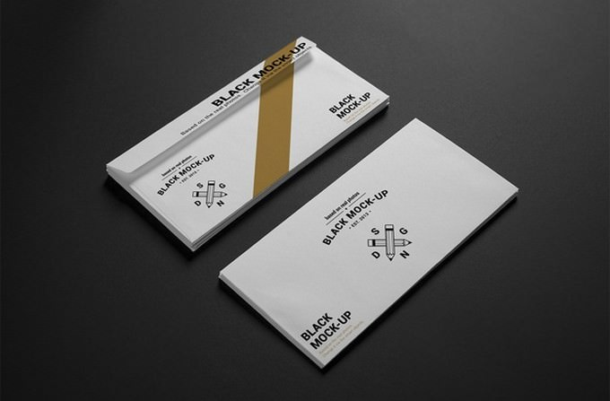 Business Envelope Mock up PSD