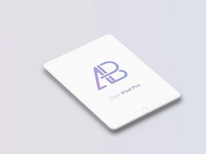 Clay iPad Pro Mockup