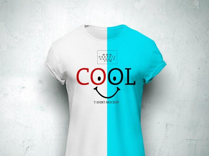 Cool T-Shirt MockUp