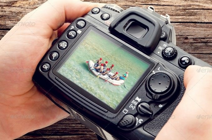 DSLR Camera High Resolution Mock-ups