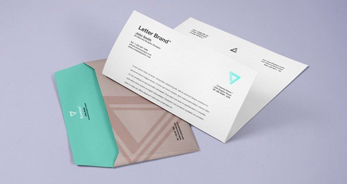 Envelope Psd Branding Mockup
