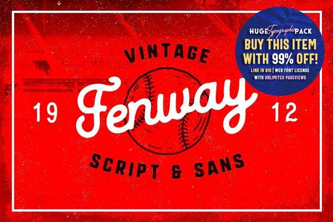 Fenway Script & Sans