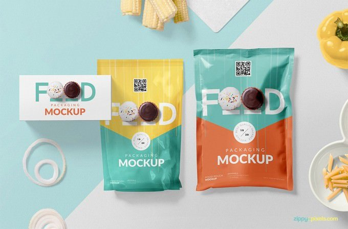 Food Product Packaging Mockup