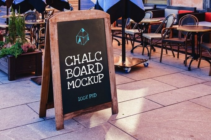 Chalk Board Mock-Up
