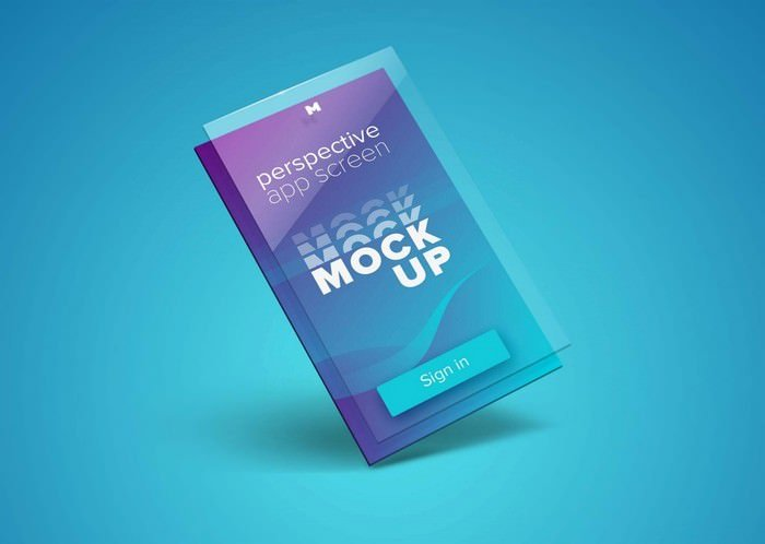 Perspective App Screen Mockup
