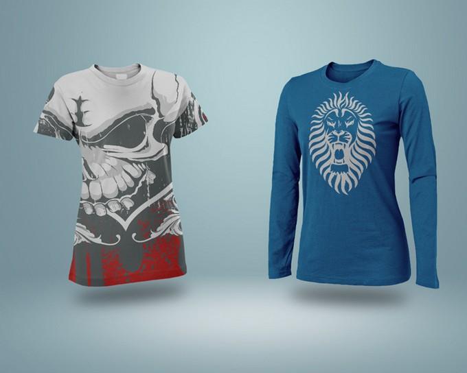 Realistic T-Shirt Mockup PSD
