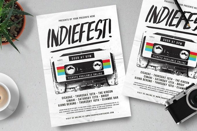 Indiefest Flyer Template