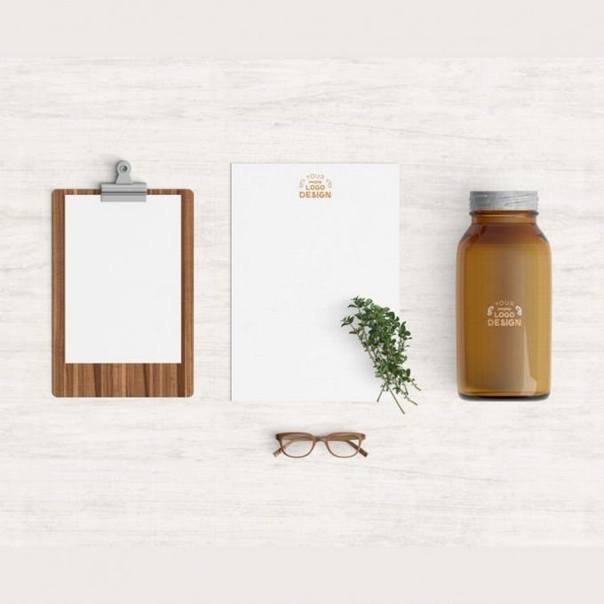 Kitchen Products Mock up PSD