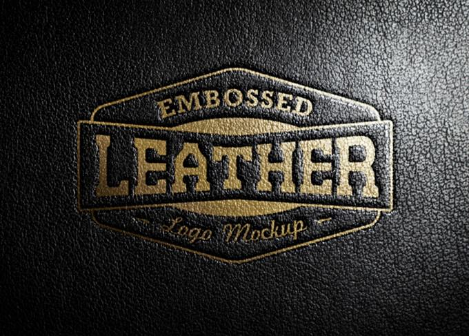 Embossed Leather Stamping For Cloth Brand