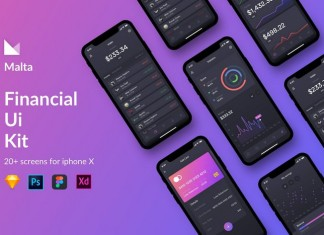 Malta Financial IOS app UI Kit