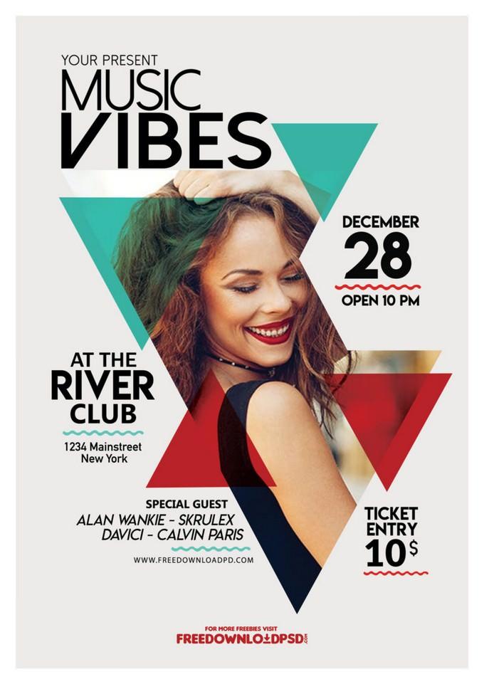 Music Club Flyer