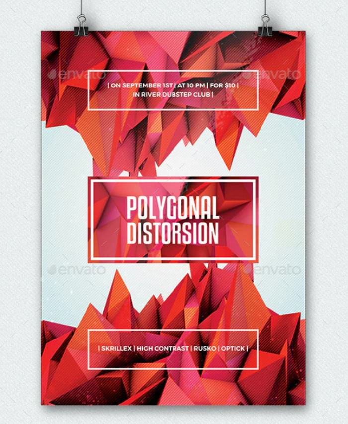 Polygonal Distorsion