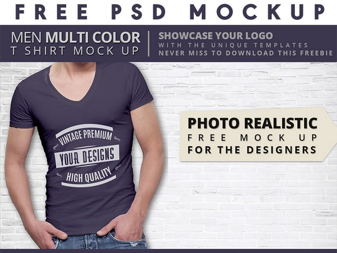 Premium Quality T shirt Mock up
