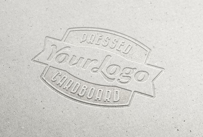 White Pressed Cardboard