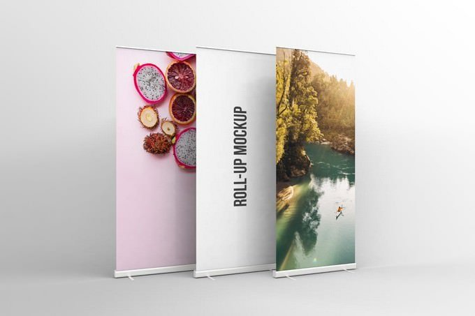 Rollup Mockup PSD