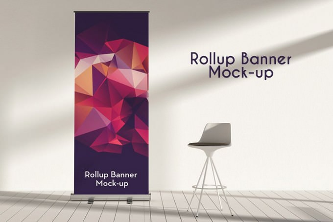 Rollup Banner Mock-ups