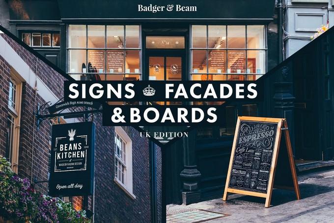 Signs & Facades Mockup