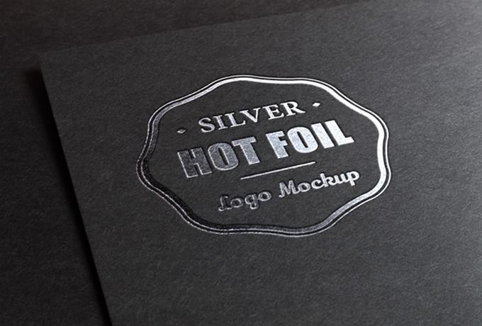 Silver Stamping PSD For Menu Card