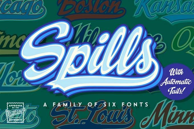 Spills Font