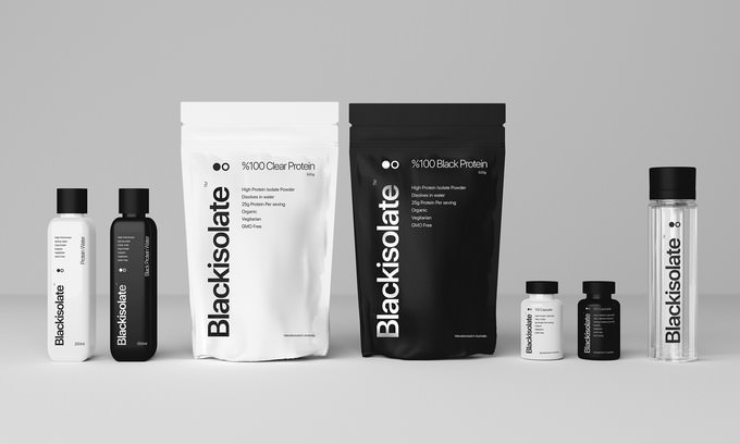 Sports Supplement Product Mockup PSD