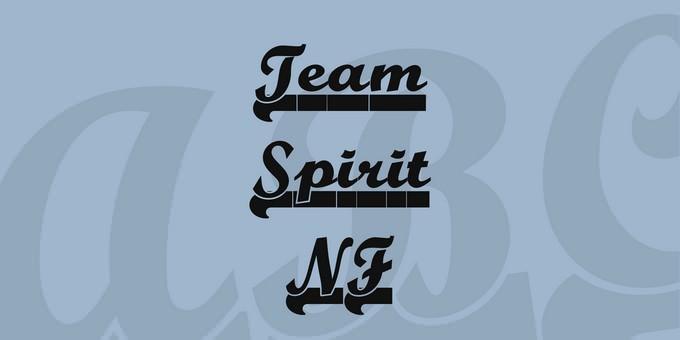 Team Spirit NF Font