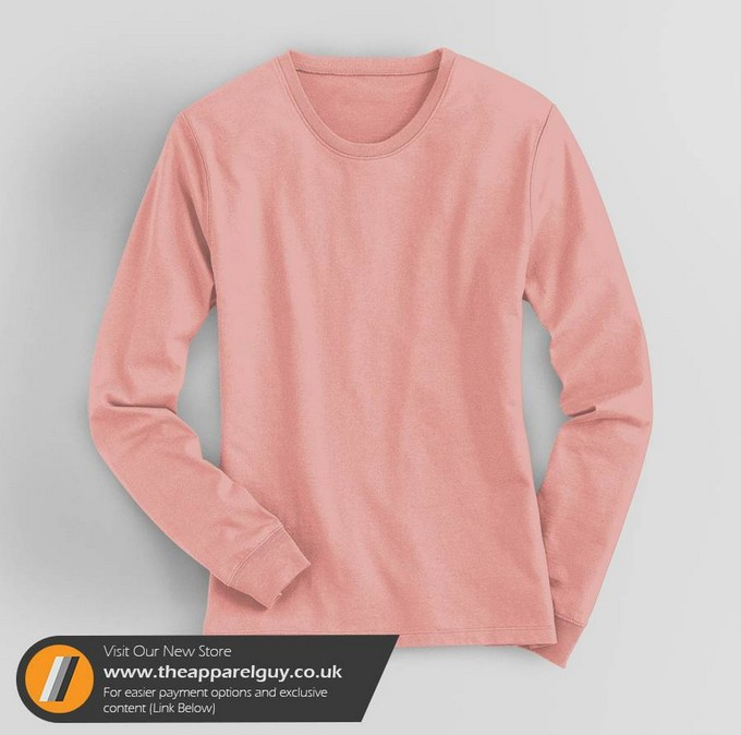 Women's Long Sleeved Tee Mockup